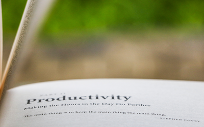Five Great Books for Productivity